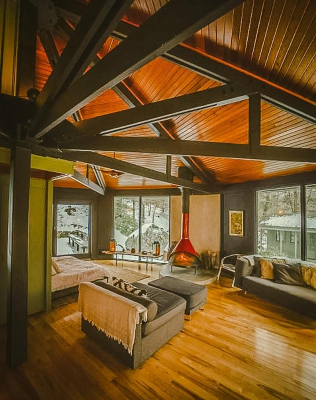 One of the best Airbnb treehouses in the Berkshires.