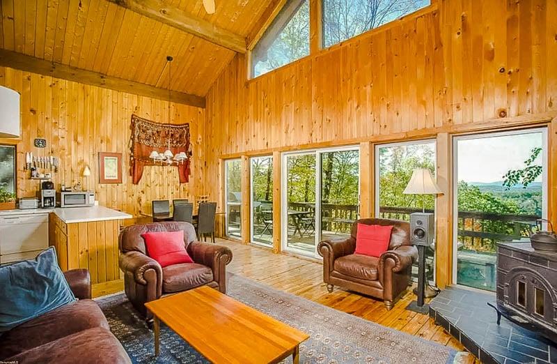 Cozy vacation rental in the Berkshires.
