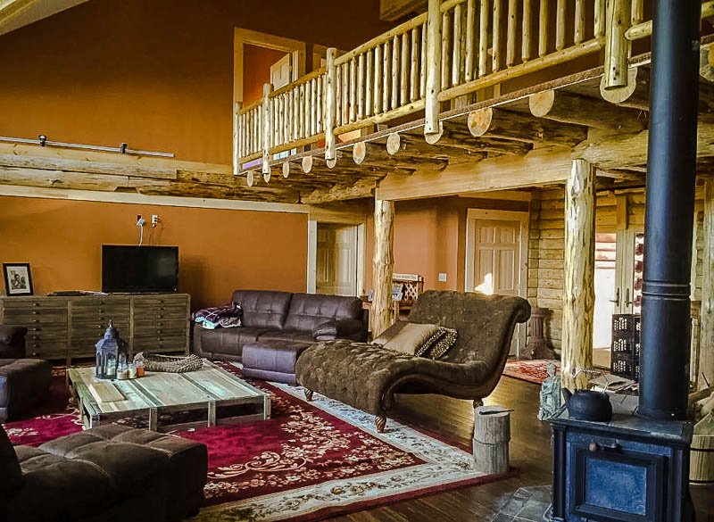 Upscale log cabin in the heart of the Berkshires.