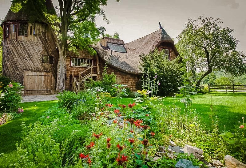 A magical Airbnb vacation rental in the Berkshires.