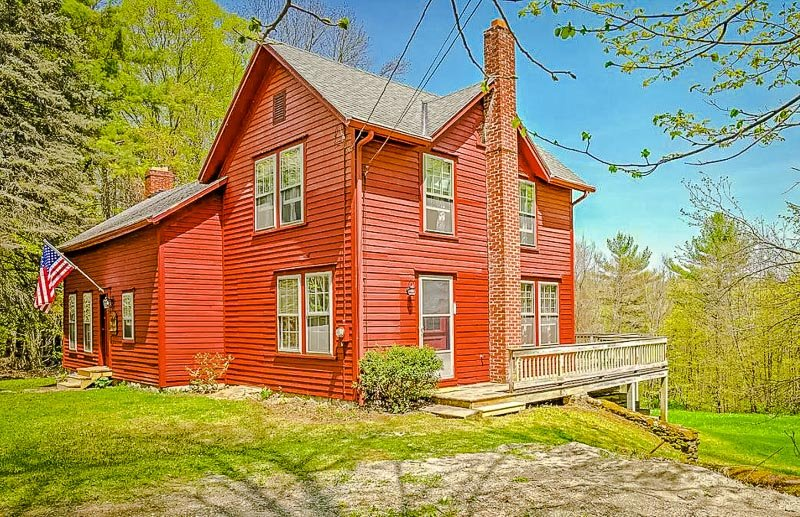 The Redway House in Stockbridge, MA.