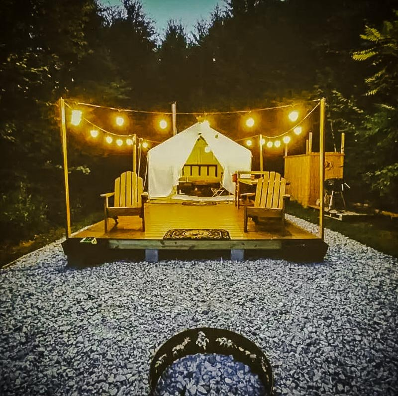 Stargazing and nature at this vacation rental in the Berkshires.