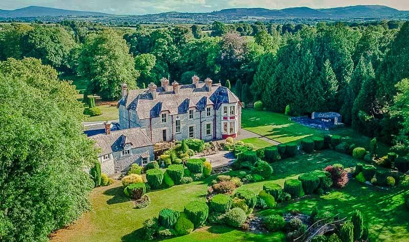 A beautiful and ornate estate in Ireland.