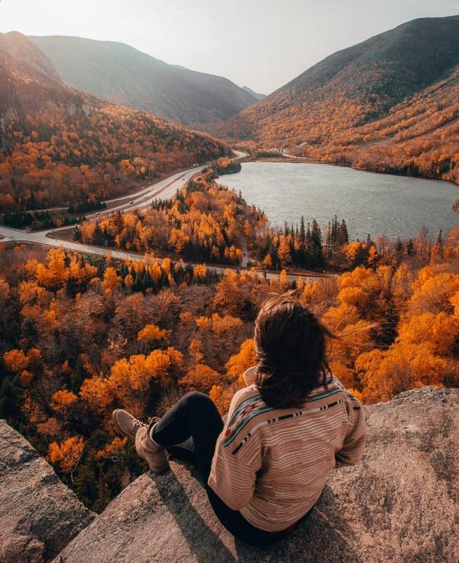Artist Bluff New Hampshire hike