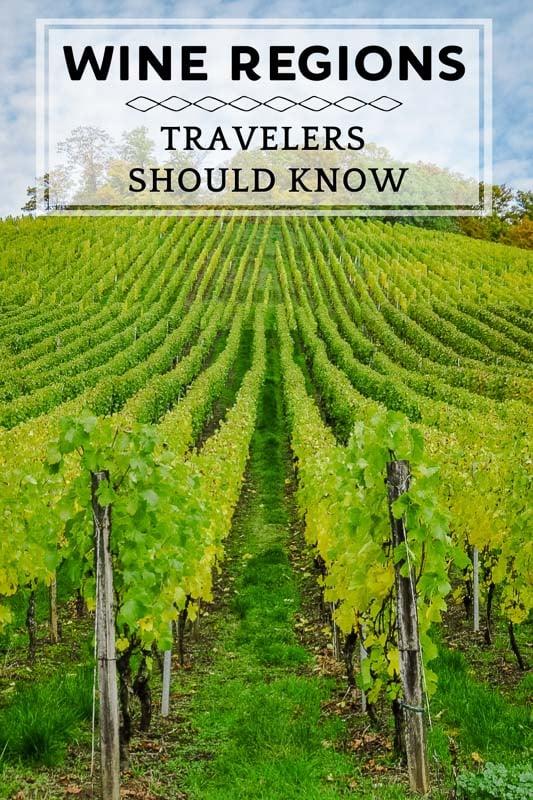 Best wine regions in the world pinterest pin photo.