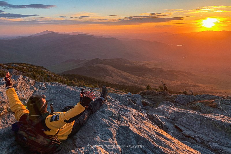 Camel's Hump in Vermont.