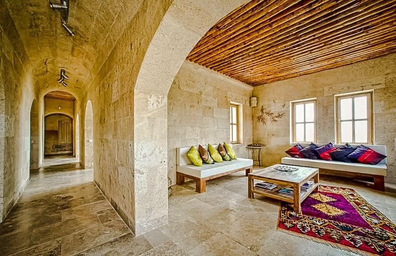 Artsy residence in Cappadocia, Turkey.