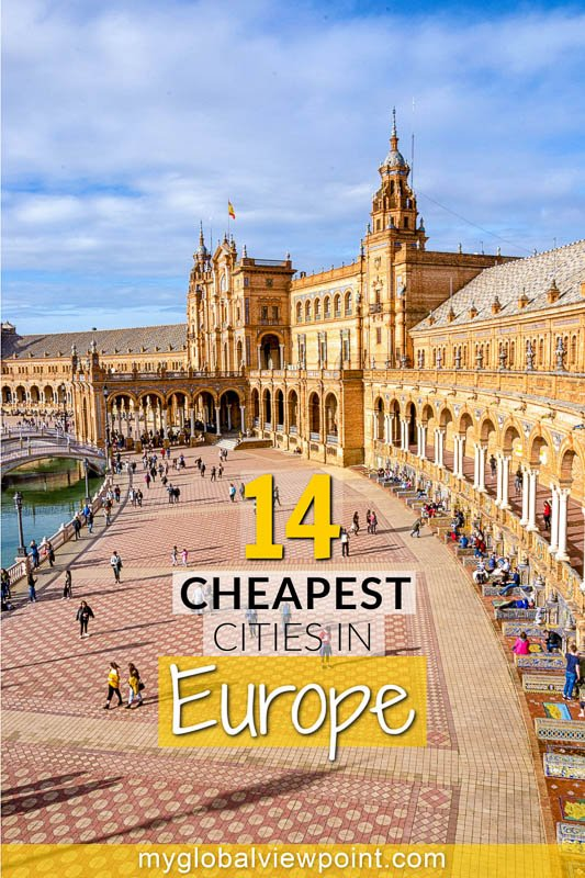 Cheapest cities in Europe you should visit Pinterest photo image