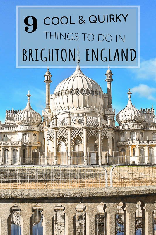 Cool things to do in Brighton England pinterest photo pin