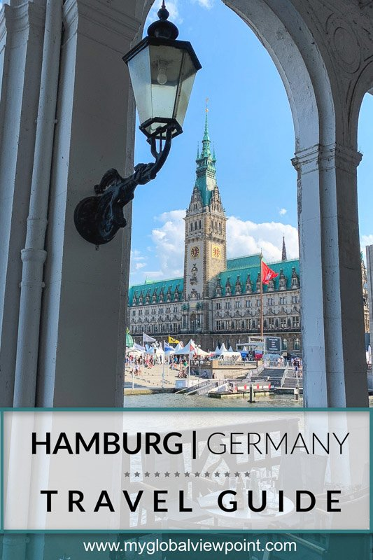 Cool things to do in Hamburg pinterest image