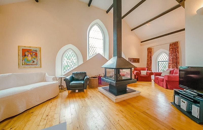 One of the coolest church conversions out there.