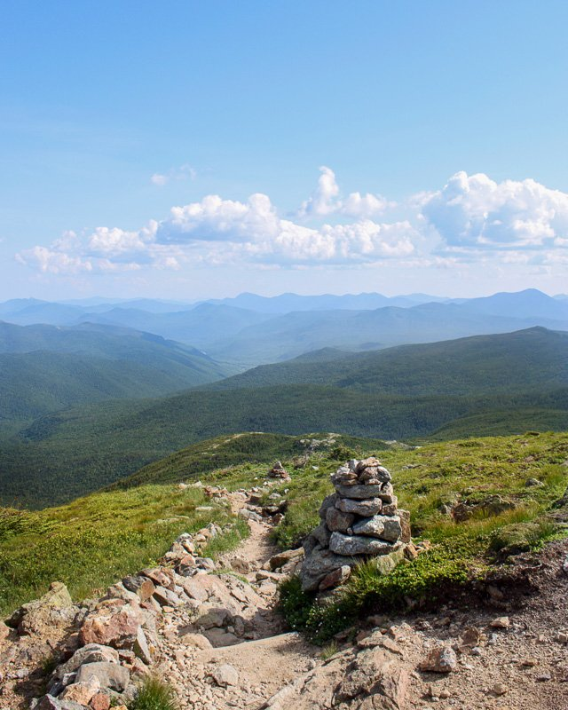 Mt. Eisenhower is among the greatest hikes in New England.