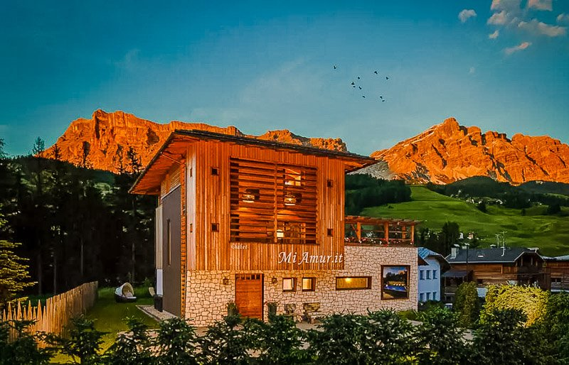 A stunning chalet in the mountains of northern Italy is among the best vacation rentals in Europe.