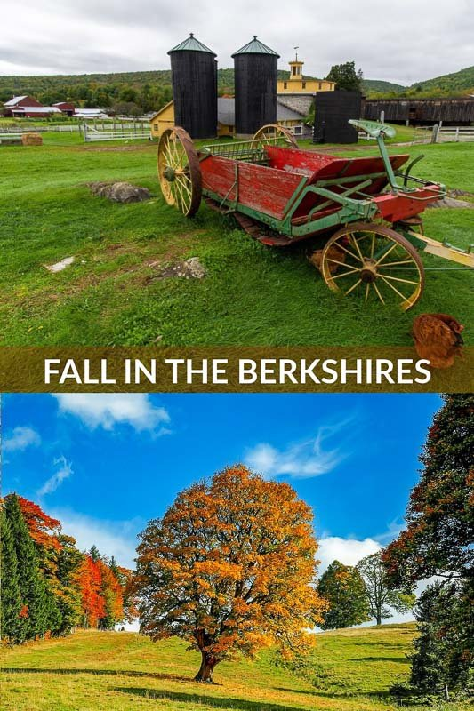 Fall in the Berkshires pinterest pin photo