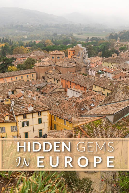 Hidden gems of Europe pinterest photo pin