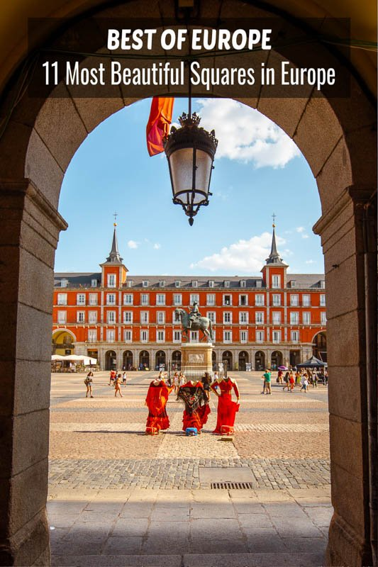 The most beautiful squares in Europe pinterest photo