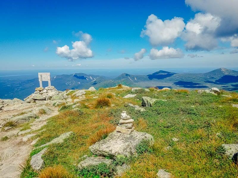 Mt Katahdin in Maine