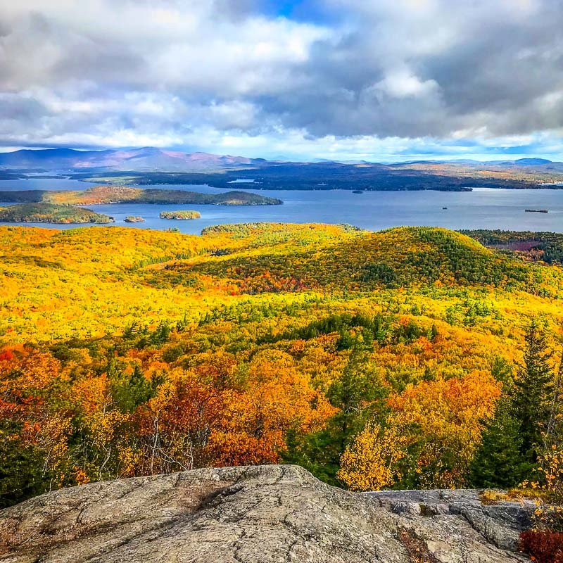 Mount Major in New Hampshire is among the best mountains to hike in New England
