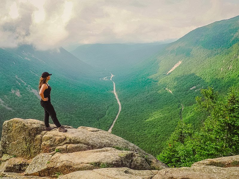 Mt. Willard is among the best hikes in New England.