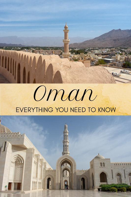 Oman travel guide pinterest photo