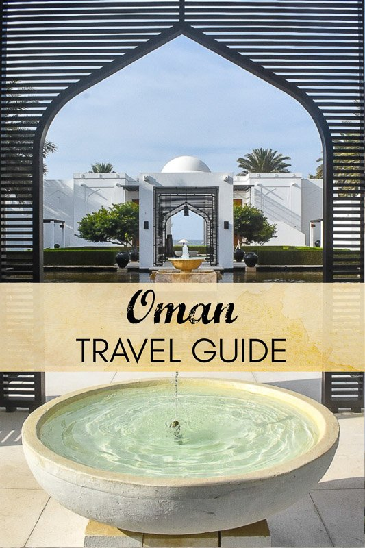 Oman travel guide, everything you need to know pinterest pin