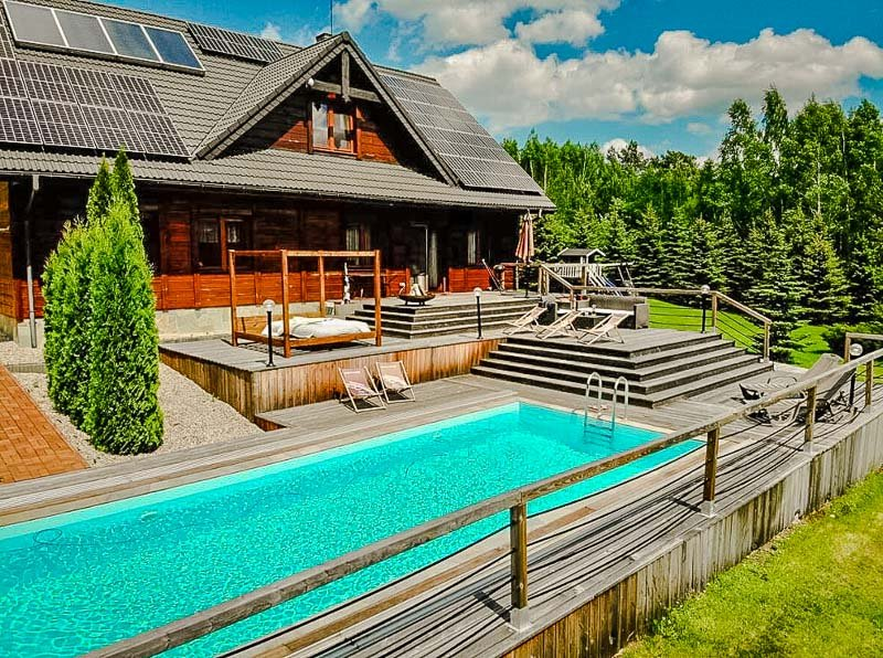 A villa in Poland.