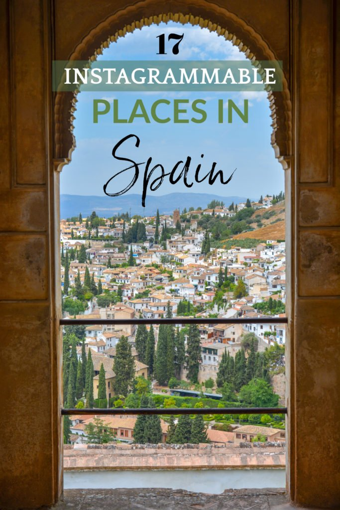Top Spain Instagram spots pinterest photo pin