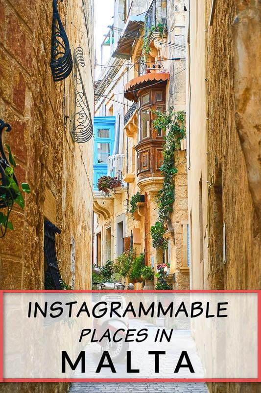 Top Malta Instagram spots
