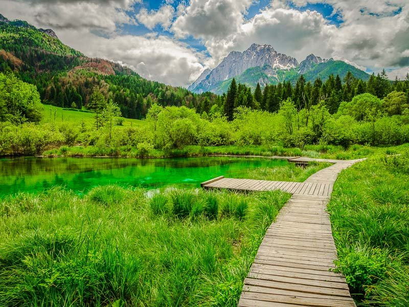 Triglav National Park in Slovenia is about as beautiful as it gets.