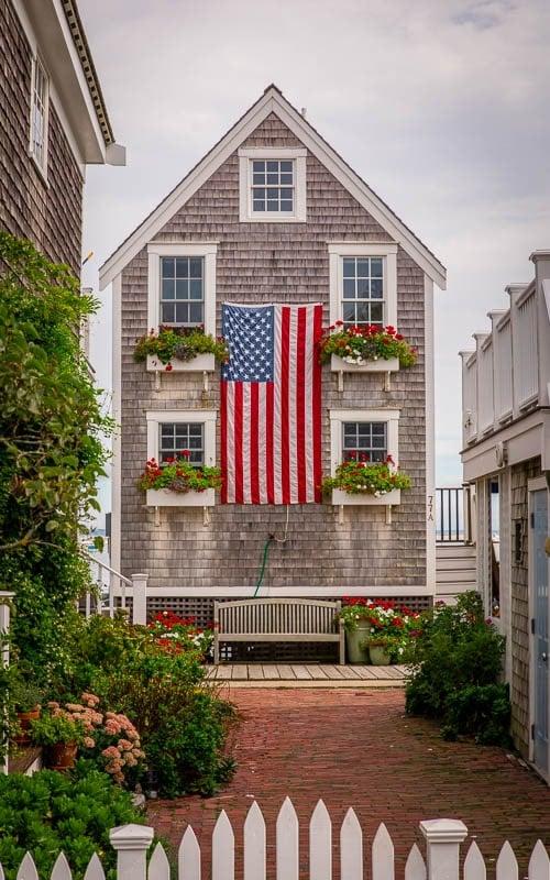 Classic Cape Cod home in Provincetown.