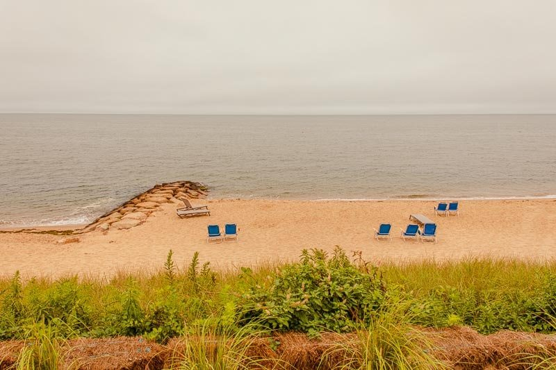 Expect to find mostly empty beaches when you visit Cape Cod in the fall.
