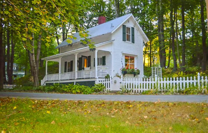 historic home that's one of the coolest Airbnbs in New Hampshire.