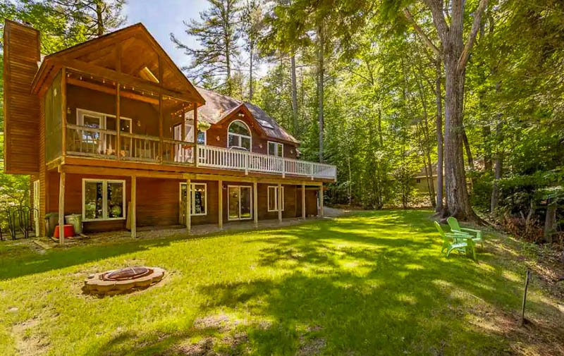 One of the most beautiful Airbnbs in the White Mountains of New Hampshire.