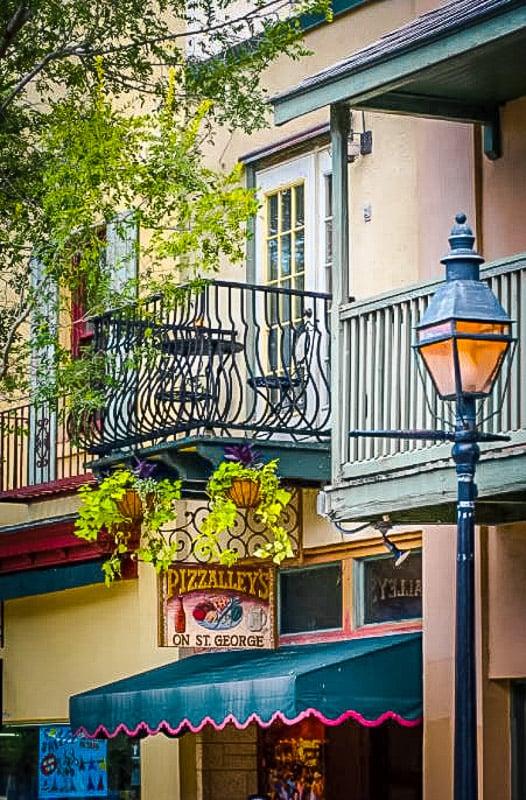 A romantic unique Airbnb in St. Augustine, Florida.