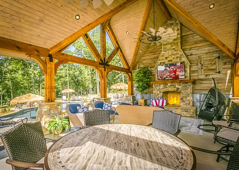 Stunning Airbnb vacation rental in Georgia