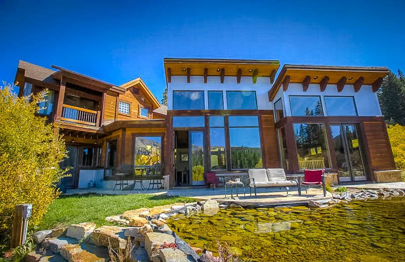This home in Breckenridge is among the coolest Airbnbs in Colorado.