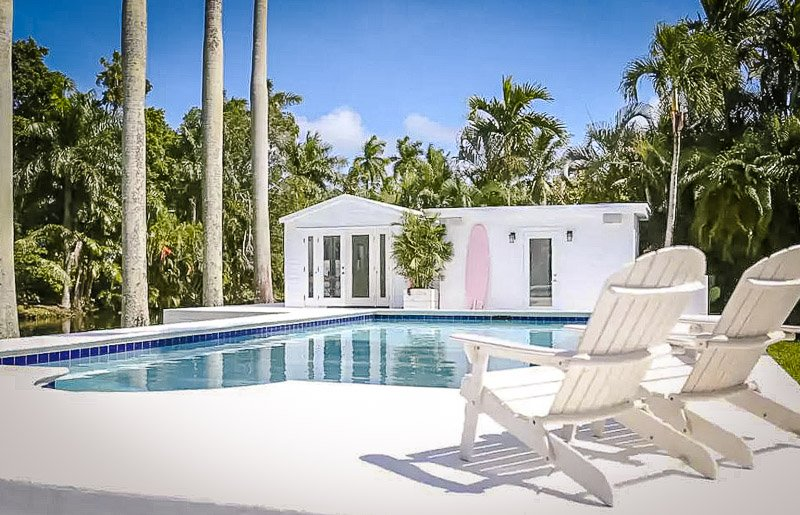 This cottage is among the coolest Airbnbs in Florida.