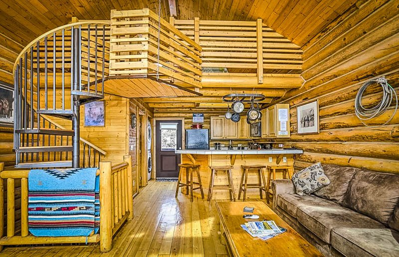 One of the best Airbnbs in Jackson Hole, Wyoming.