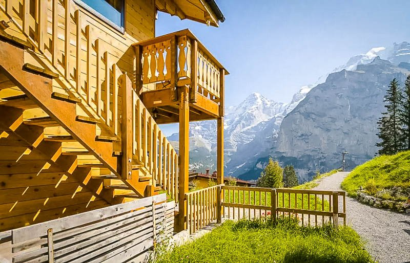 One of the best Airbnbs in the Swiss Alps