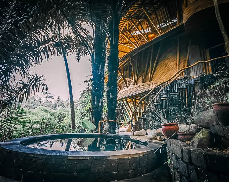 This treehouse bamboo property is among the best accommodations in the globe