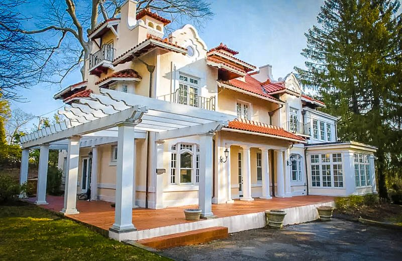 A luxury home rental in Massachusetts