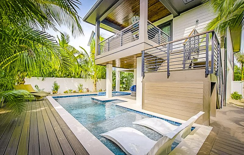 A beautiful beach house that's among the most unique Airbnbs in Florida