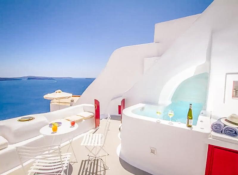 Cave House Airbnb rental in Santorini, Greece