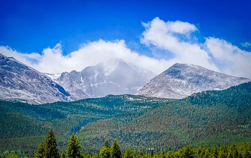 Sweeping vistas of the Rocky Mountains