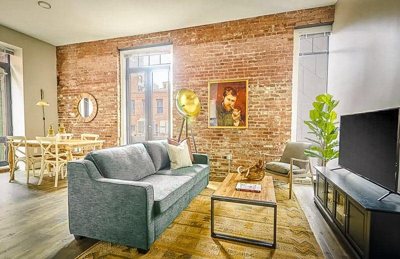 A unique industrial loft for rent in Massachusetts