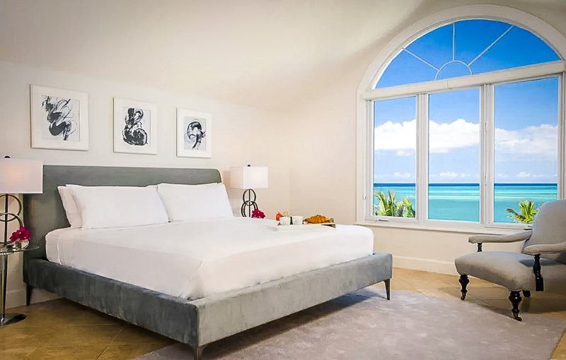 Stunning penthouse suite vacation rental in Turks and Caicos