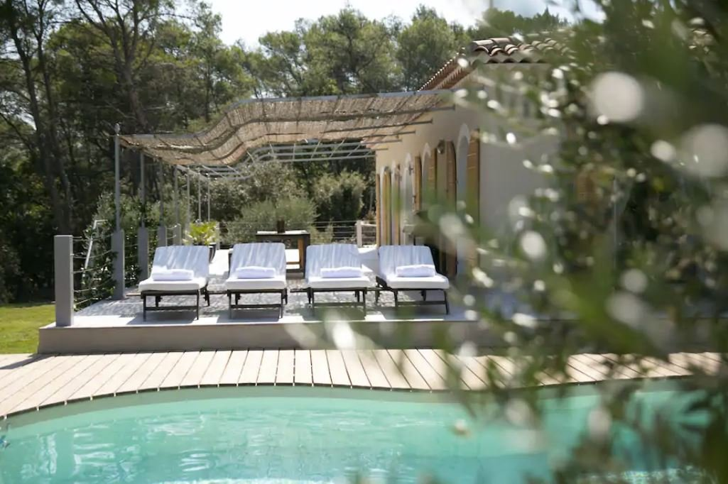 Affordable luxury rental in southeastern France.