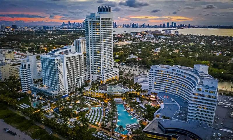 Beautiful views of Miami, Florida
