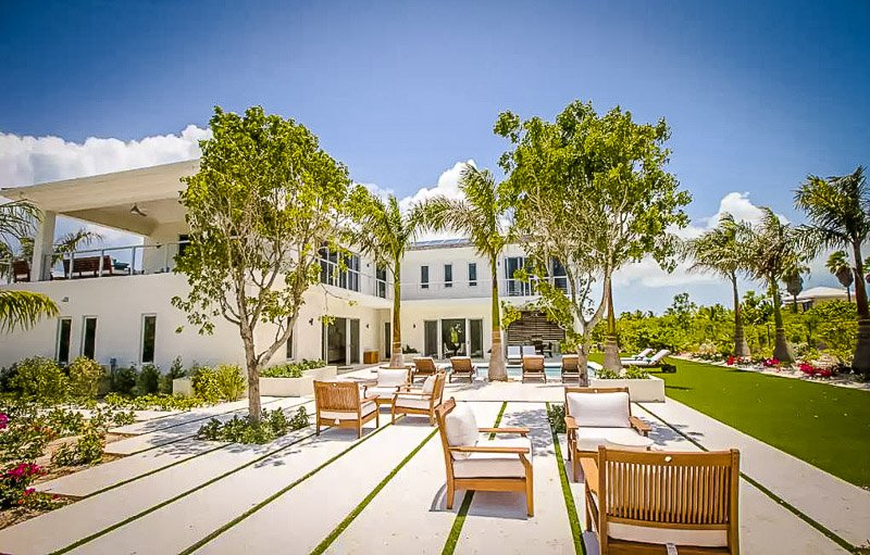 One of the most beautiful Airbnbs in Turks and Caicos.