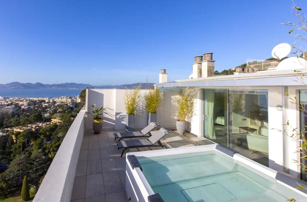 A unique French Riviera Airbnb in Cannes, France.